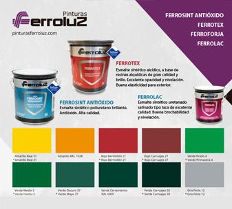 Carta Ferrosint - Ferrolac