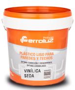 pintura plástica vinilica seda